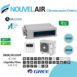 GREE CONDUCTOS UM CDT 24 CAPACIDAD 7.0 KW