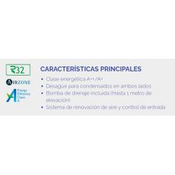 GREE CONDUCTOS UM CDT 30 CAPACIDAD 8.3 KW