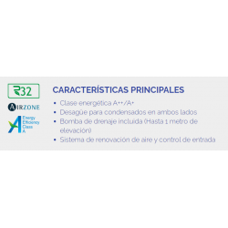 GREE CONDUCTOS UM CDT 18 CAPACIDAD 5.0 KW